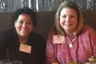 Georgia Power's SVP of HR, Sloane Evans, Tami Barron, CEO of SouthernLINC Wireless.