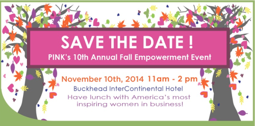 Sign up for PINK's 10th Anniversary Fall Empowerment Event!