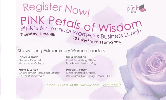 PINK Petals of Wisdom Women's Business Lunch