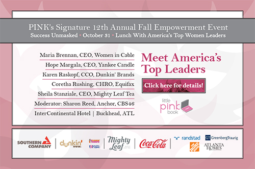 Get Empowered: PINK's 12th Annual Fall Empowerment Lunch Event